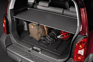 Rear Cargo Cover, Retractable (Grey). Rear Cargo Cover image for your Nissan